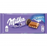 Chocolate Milka Oreo 100g - Chocolate Importado