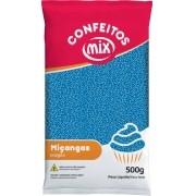 Confeito Miçanga Azul 500g - Mix Granulado