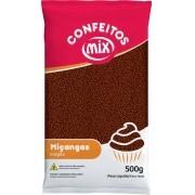 Confeito Miçanga Brigadeiro 500g - Mix Granulado