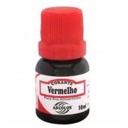 Corante Liquido Vermelho 10ml - Arcolor