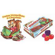 Creme Frutas Vermelha e Chocolate 10g C/48un - Nucita