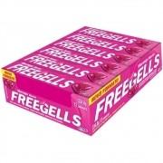 Freegells Drops Morango Mentol c/12 - Riclan