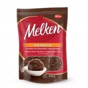 Granulado Granule Chocolate Meio Amargo 400g - Melken Harald