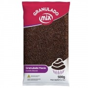 Granulado Macio Chocolate 500g - Mix Brigadeiro