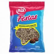 Granulado Macio Mesclado Chocolate e Branco 500g - Mix Brigadeiro