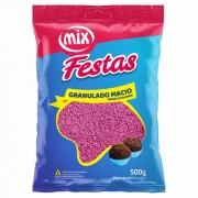 Granulado Macio Rosa 500g - Mix Brigadeiro