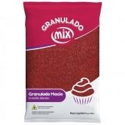 Granulado Macio Vermelho 500g - Mix Brigadeiro
