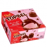 Marshmallow Chocolate Top Bels Morango c/50 - Bel