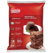 Mistura para Brownie e Petit Gateau 800g - Nestlé