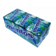 Pastilha Mentos Slim Box 12x32,1gr - Crazy Mint