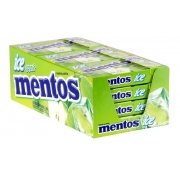 Pastilha Mentos Slim Box 12x32,1gr - Ice Apple