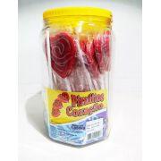 Pirulito Coração Vermelho C/30 1,05kg - Martinha
