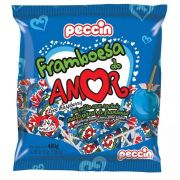 Pirulito Framboesa Do Amor C/24 480gr - Peccin