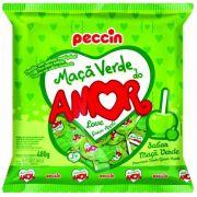 Pirulito Maçã Verde Do Amor C/24 480gr - Peccin