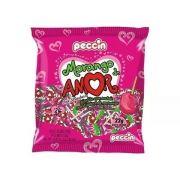 Pirulito Morango Do Amor C/24 480gr - Peccin