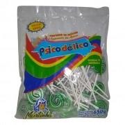Pirulito Psicodélico Verde C/50un - Martinha