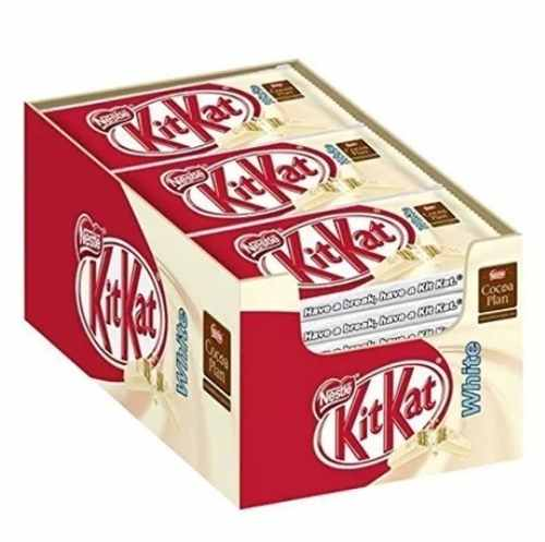 Chocolate Kit Kat Branco 41,5gr C/24un - Nestlé