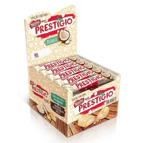 Chocolate Prestigio Branco C/30un 33gr - Nestlé