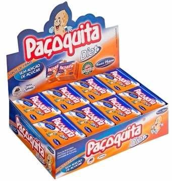 Paçoca Diet Paçoquita 22gr C/24un - Santa Helena
