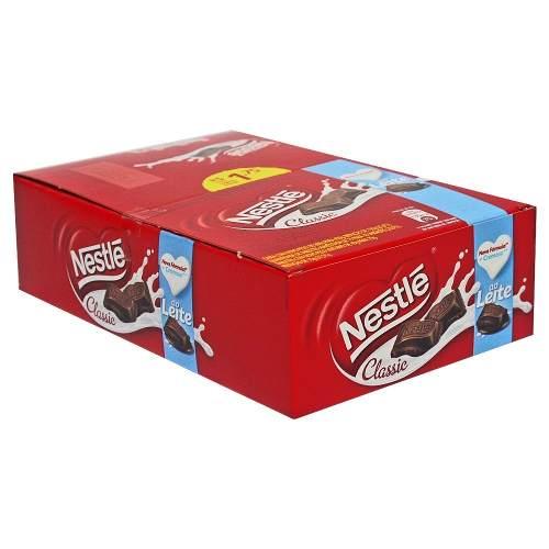 Chocolate Ao Leite Classic C/18un 25gr - Nestlé