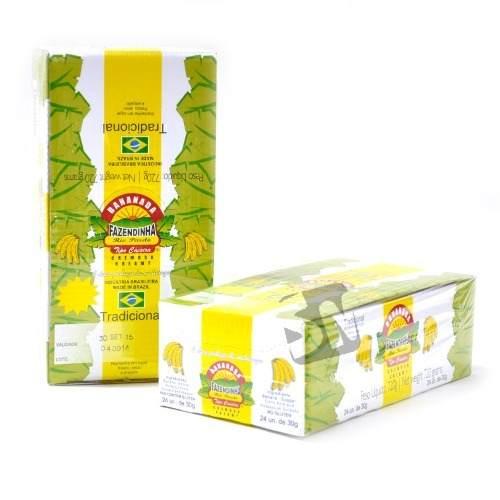 Bananada Fazendinha Com Açúcar 30gr C/24un