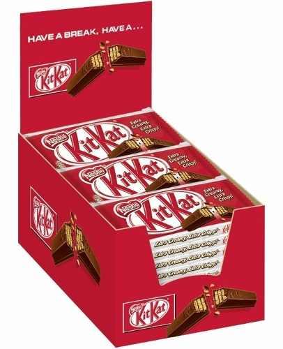 Chocolate Kit Kat Ao Leite 41,5gr C/24un - Nestlé