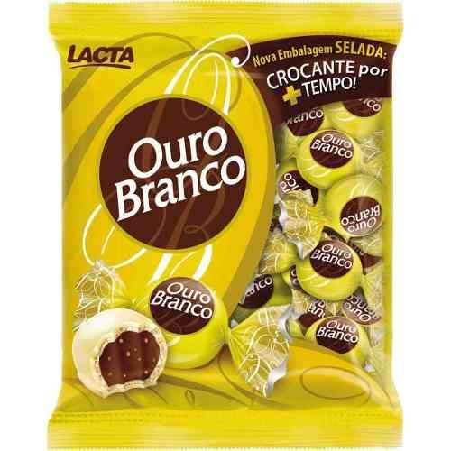 Chocolate Bombom Ouro Branco Pacote 1kg - Lacta