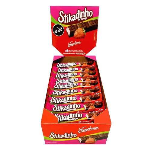 Chocolate Stikadinho 12,3gr C/32un - Neugebauer