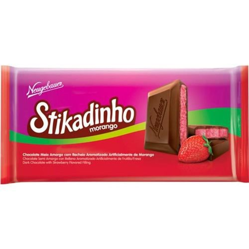 Chocolate Stikadinho 70gr C/12un - Neugebauer