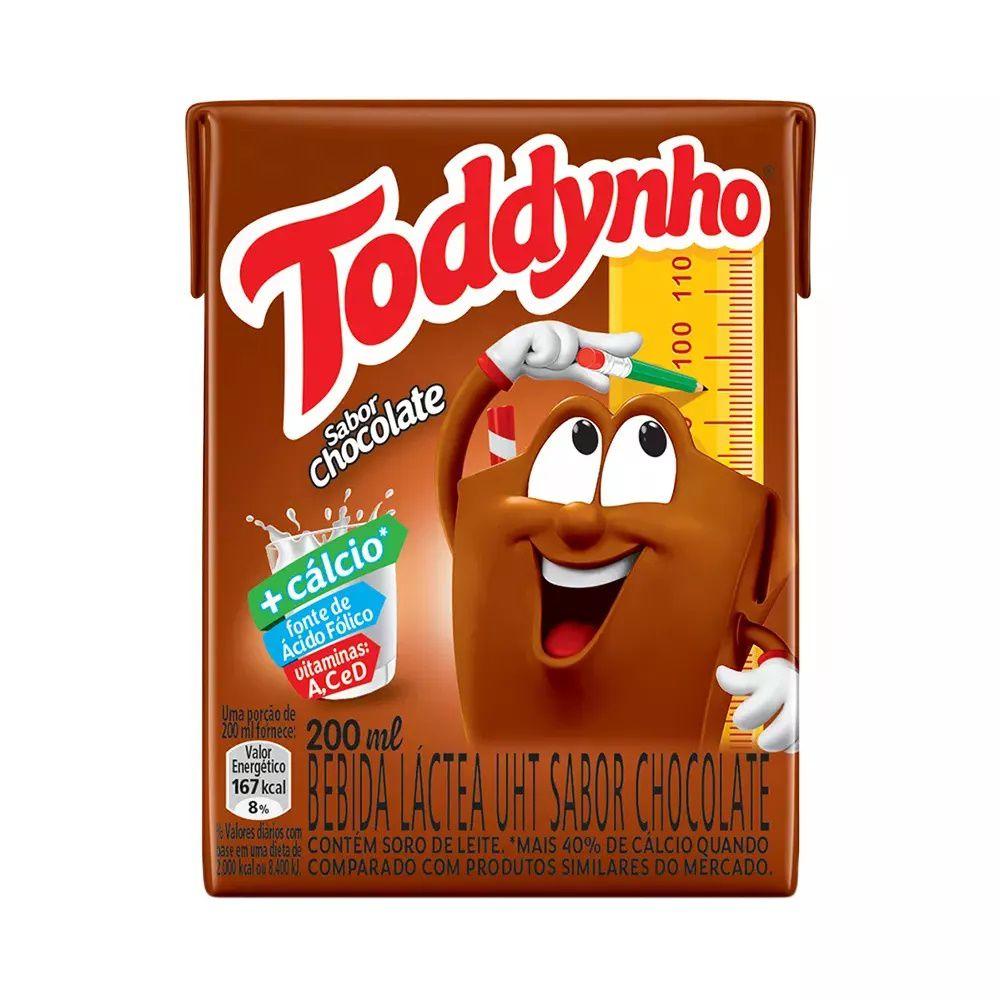 Achocolatado Toddynho 200ml C/27un - Elma Chips