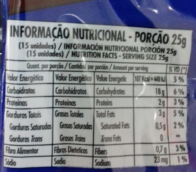 Amendoim Confeitado Chocolate 500g - Kuky