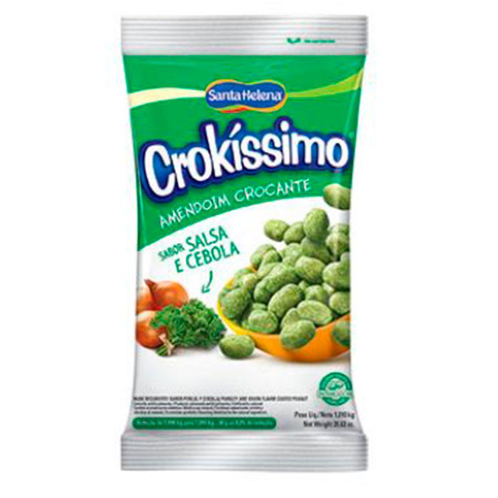 Amendoim Crocante Crokíssimo Salsa e Cebola 1,01kg - Santa Helena