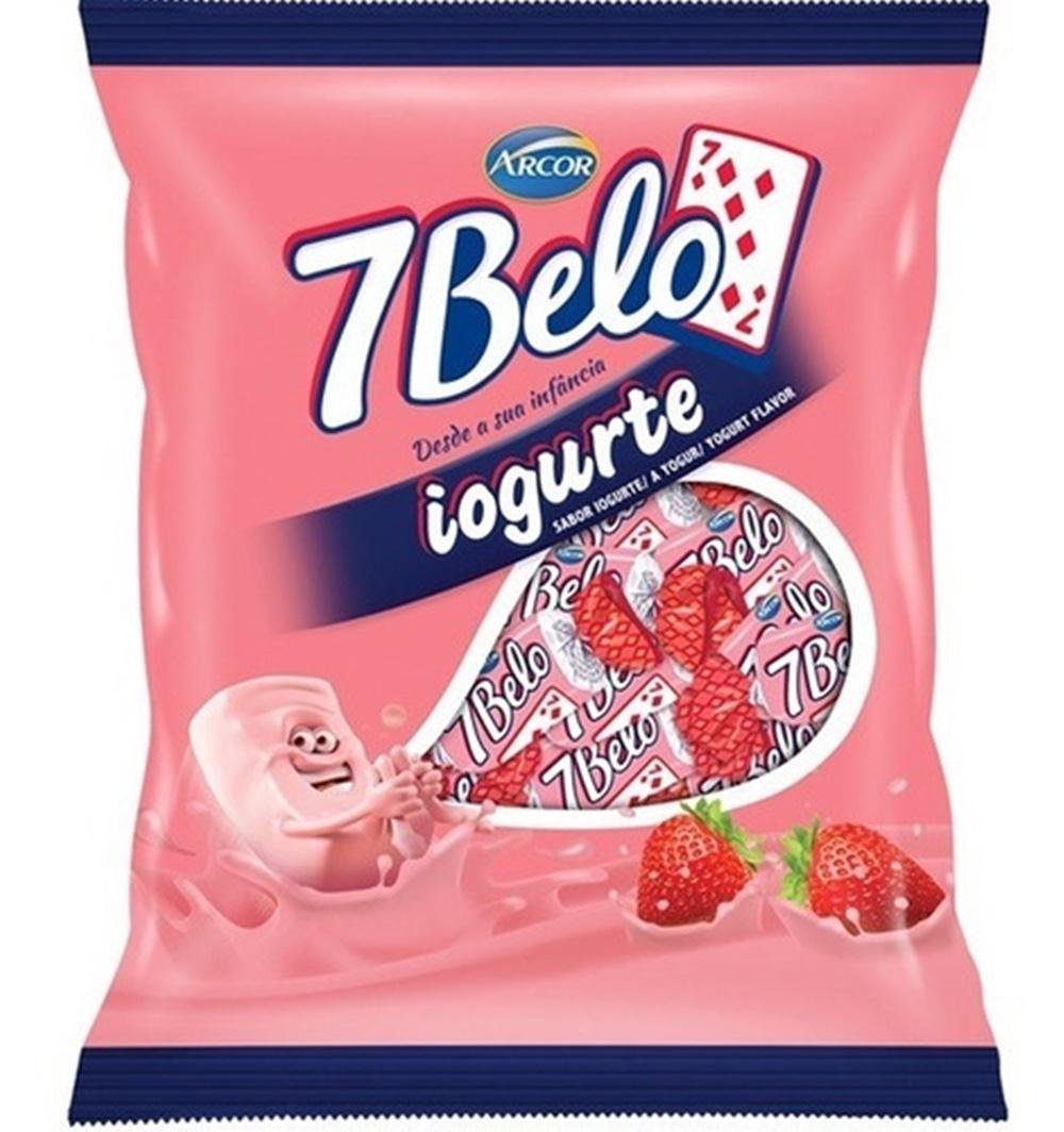 Bala 7 Belo Iogurte 500g - Arcor