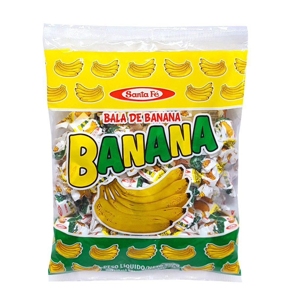 Bala De Banana 500g - Santa Fé