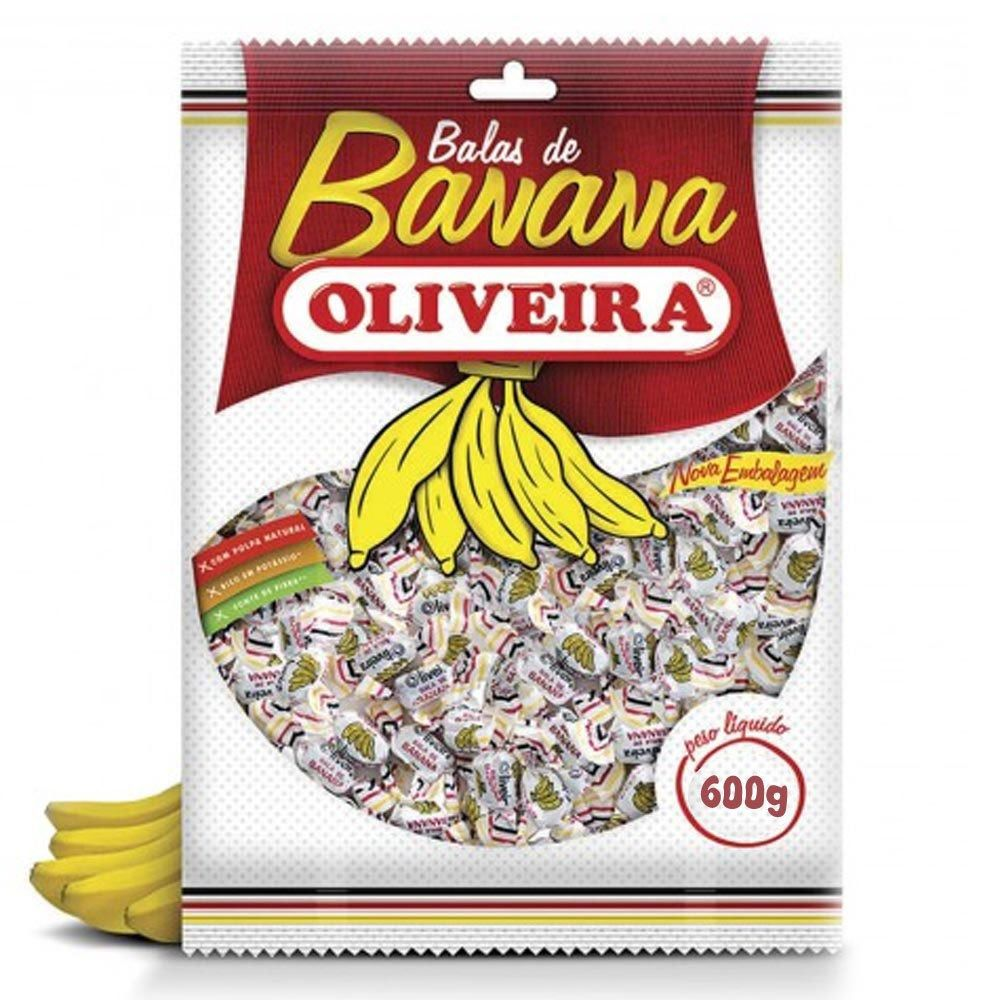 Bala De Banana 700g - Oliveira