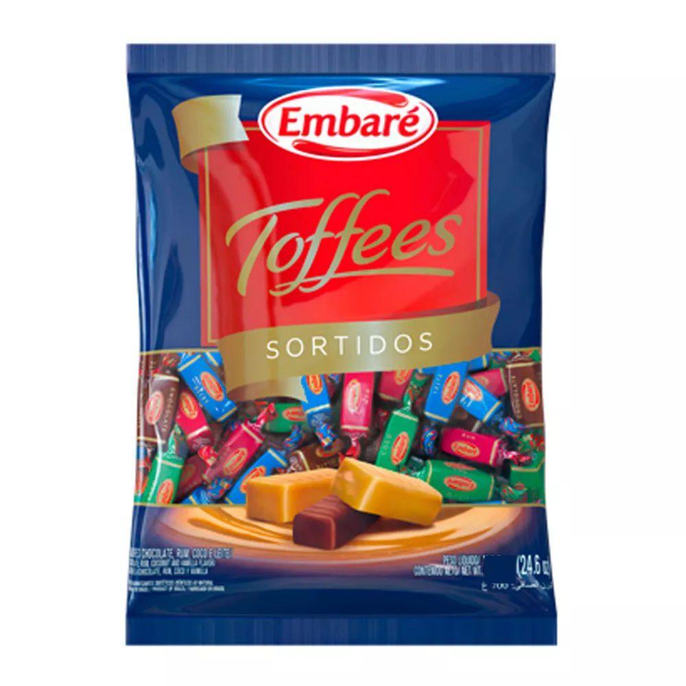 Bala De Caramelo Toffees Sortidos 600g - Embaré