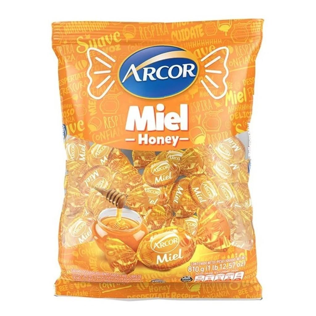 Bala De Mel Recheada  600gr - Arcor