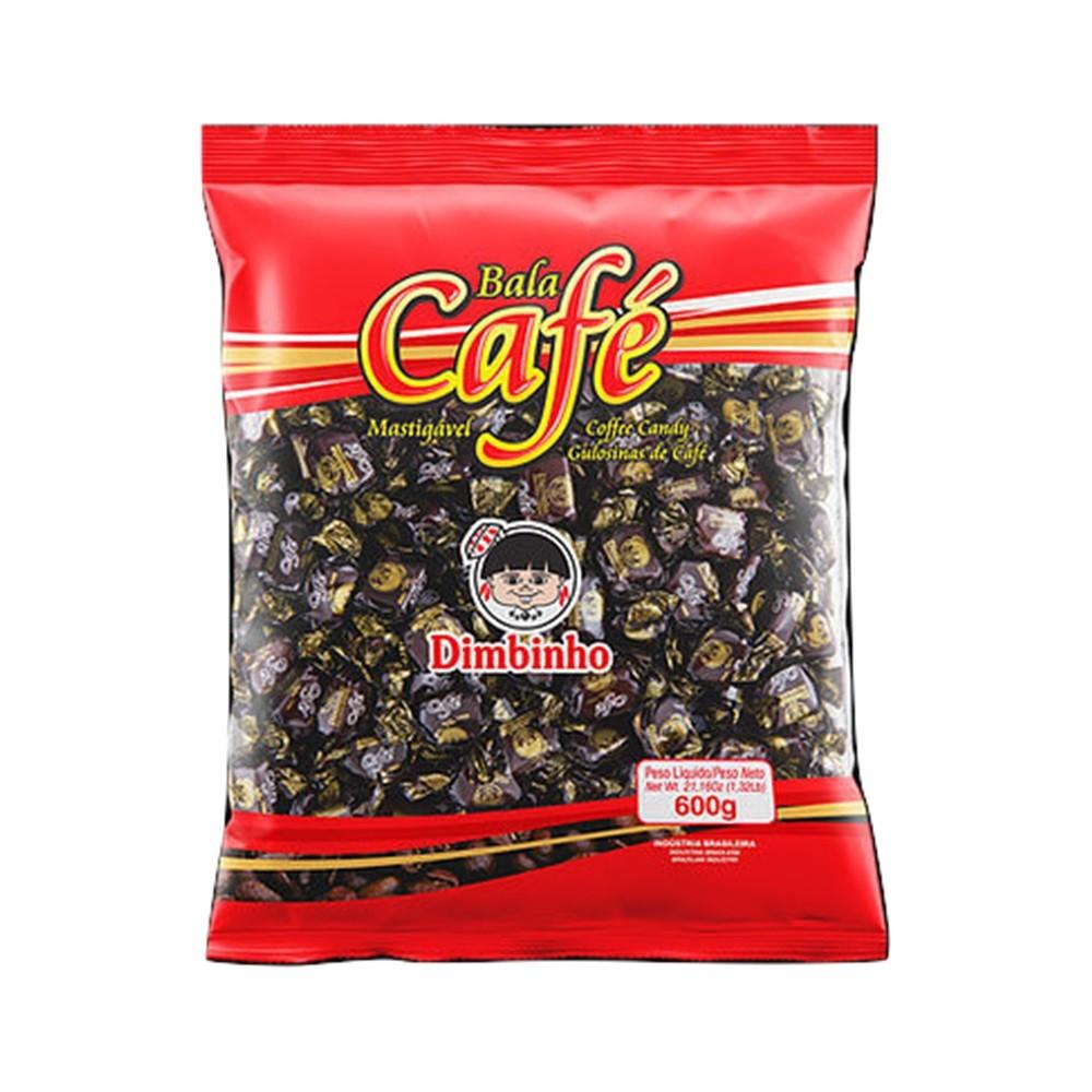 Bala Mastigável Café 600g - Dimbinho