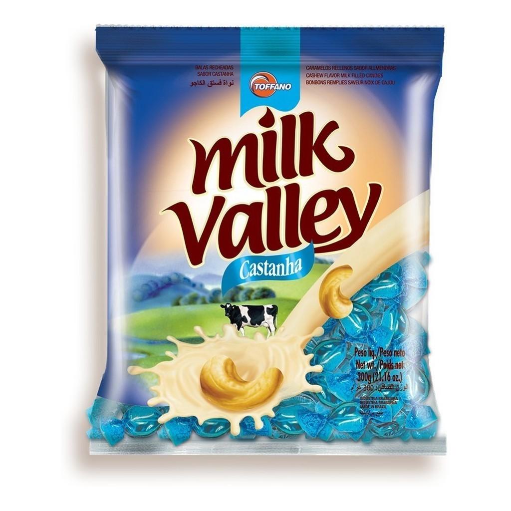 Bala Recheada Castanha  Milk Valley - Toffano