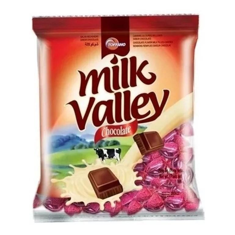 Bala Recheada Chocolate Milk Valley - Toffano