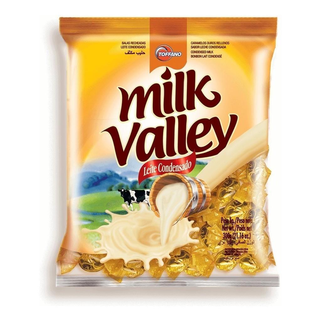 Bala Recheada Leite Condensado Milk Valley - Toffano