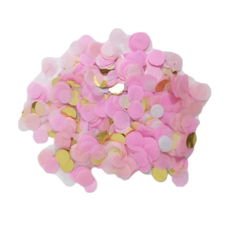 Balão Chá Revelação Gigante Preto Com Confetes Rosa Pink