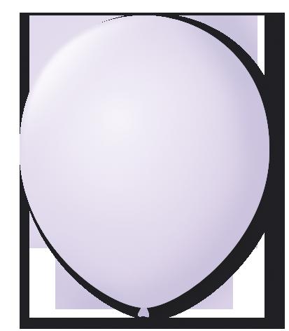 Balão São Roque Candy Color N°7 C/25un Lilás