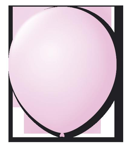 Balão São Roque Candy Color N°7 C/25un Rosa