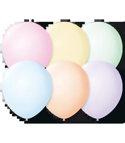 Balão São Roque Candy Color N°7 C/25un Sortido