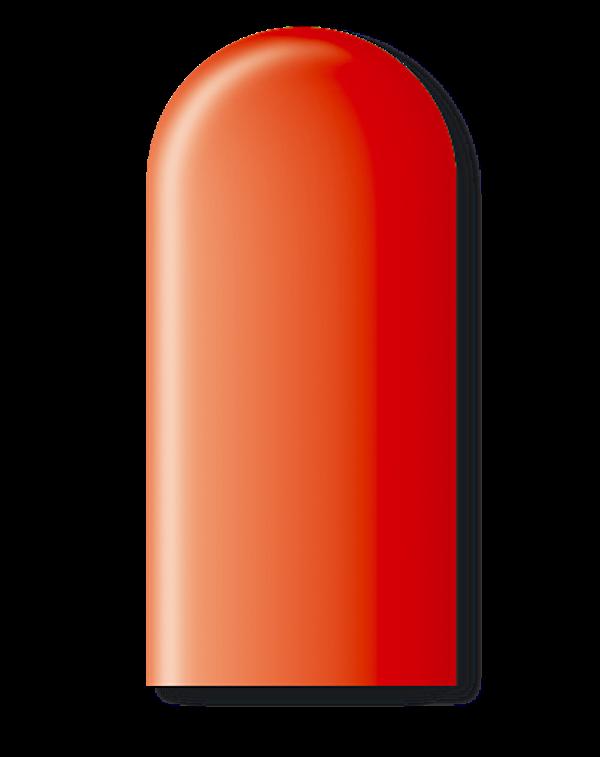 Balão São Roque Canudo 260 C/50un Vermelho Quente