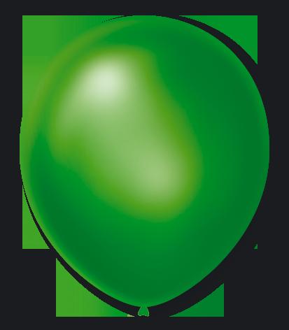 Balão São Roque Cintilante N°7 C/50un Verde