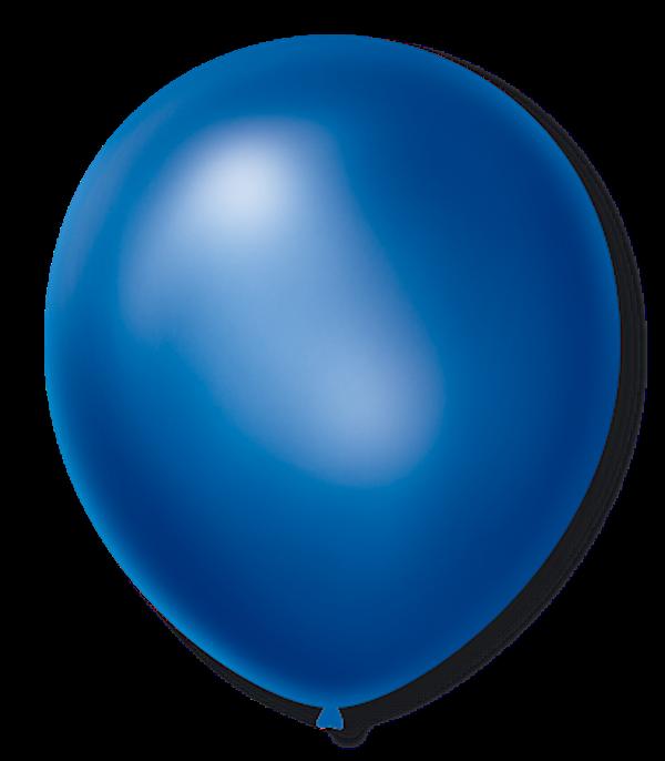 Balão São Roque Cintilante N°9 C/50un Azul