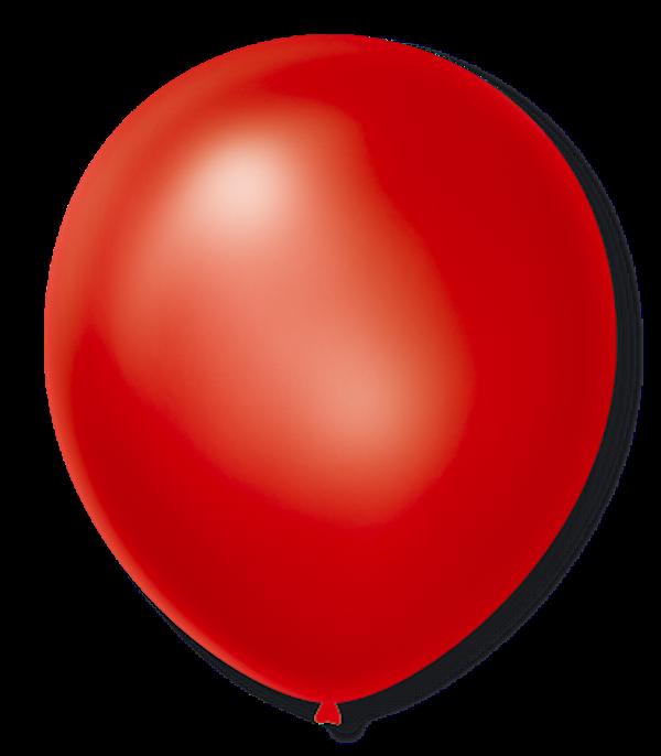 Balão São Roque Cintilante N°9 C/50un Vermelho