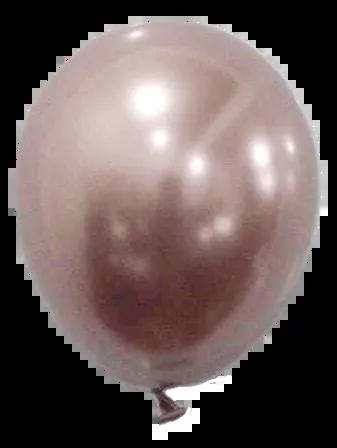 Balão São Roque Metalizado N°11 C/25un Rose Gold